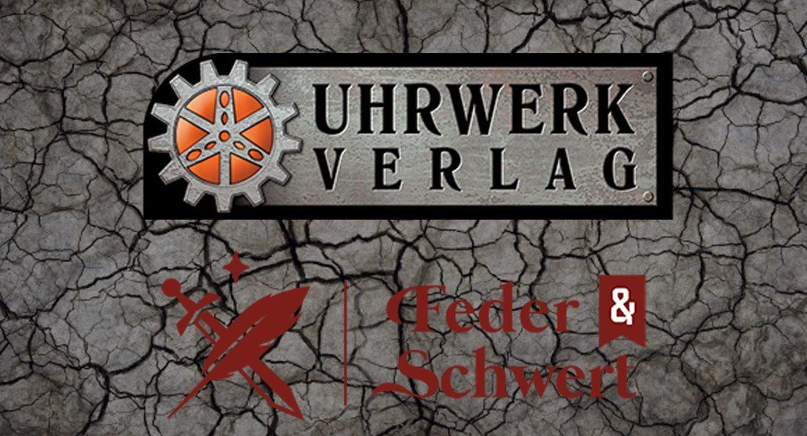 Splittermond Rollenspiel Fantasy Roman Feder und Schwert Uhrwerk Verlag Insolvenz